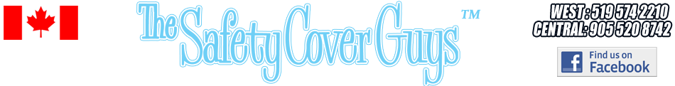 Pool Maintenance in Cambridge - The Safety Cover Guys Logo